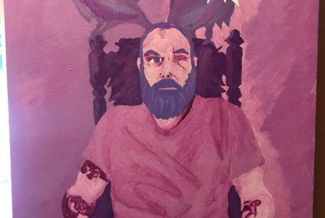 Self Portrait as Odin